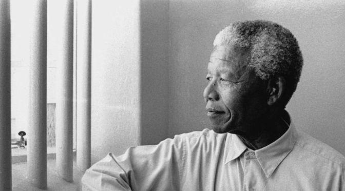 Desiderio di Libertà – Nelson Mandela, libero, in prigione per 27 anni.